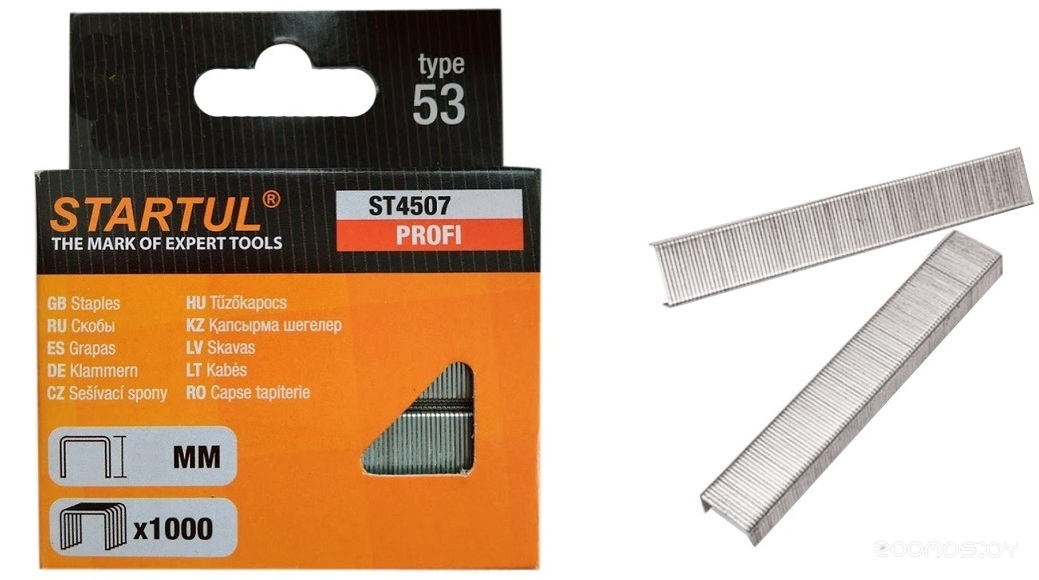 Скобы для степлера Startul Standart ST4502-12