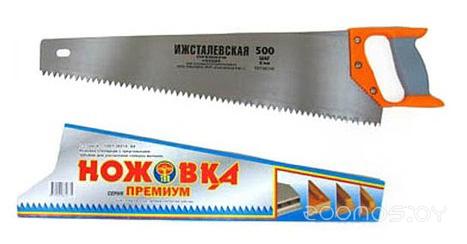 Ножовка по дереву Ижсталь-ТНП 500мм. зуб 6.5мм Премиум
