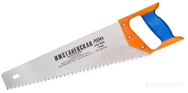 Ножовка по дереву Ижсталь-ТНП 400мм. зуб 5мм Премиум