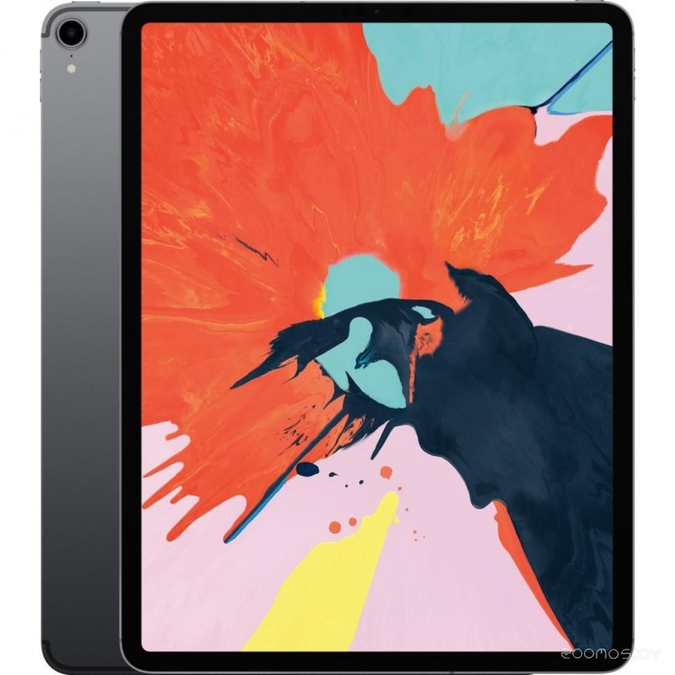 Планшет Apple iPad Pro 12.9 (2018) 1Tb Wi-Fi + Cellular (Space Grey) (MTJP2)