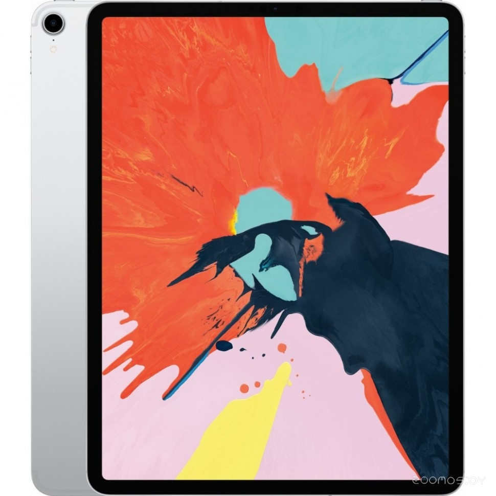 Планшет Apple iPad Pro 12.9 (2018) 64Gb Wi-Fi + Cellular (Silver) (MTHP2)