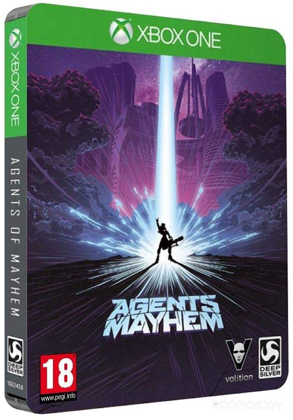 Игра для игровой консоли Deep Silver Agents of Mayhem Steelbook для Xbox One