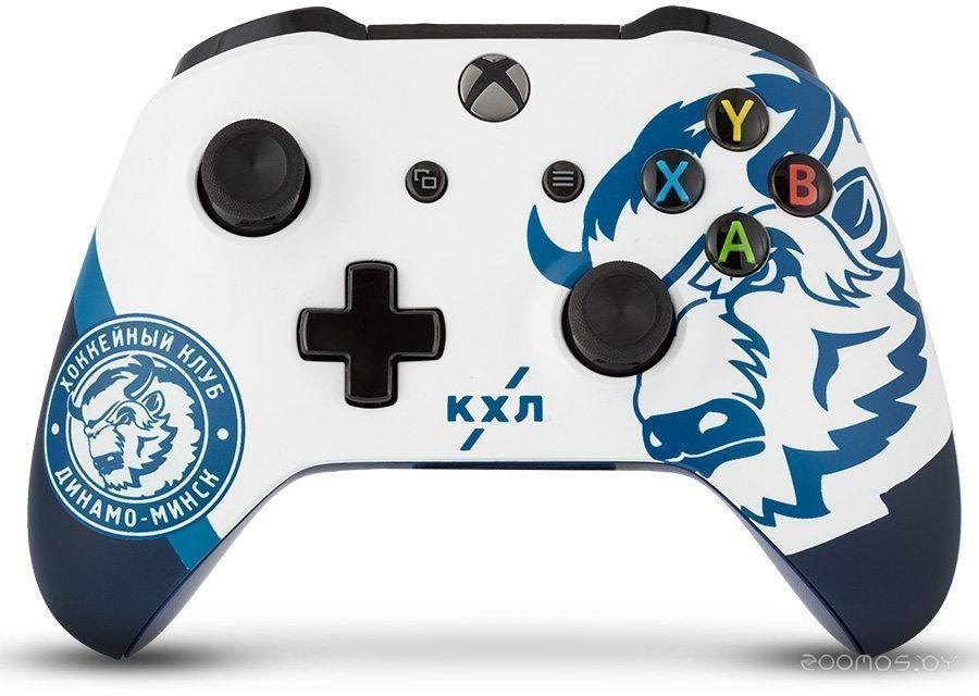 Беспроводной геймпад Microsoft Xbox One Wireless Controller (КХЛ Динамо Минск)