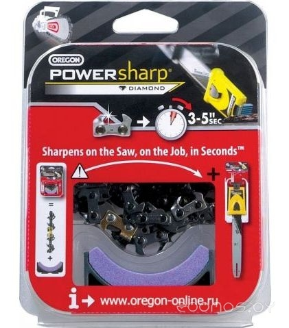 Цепь для пилы Oregon Powersharp 45 см 18 3/8 1.3 мм 62 зв.