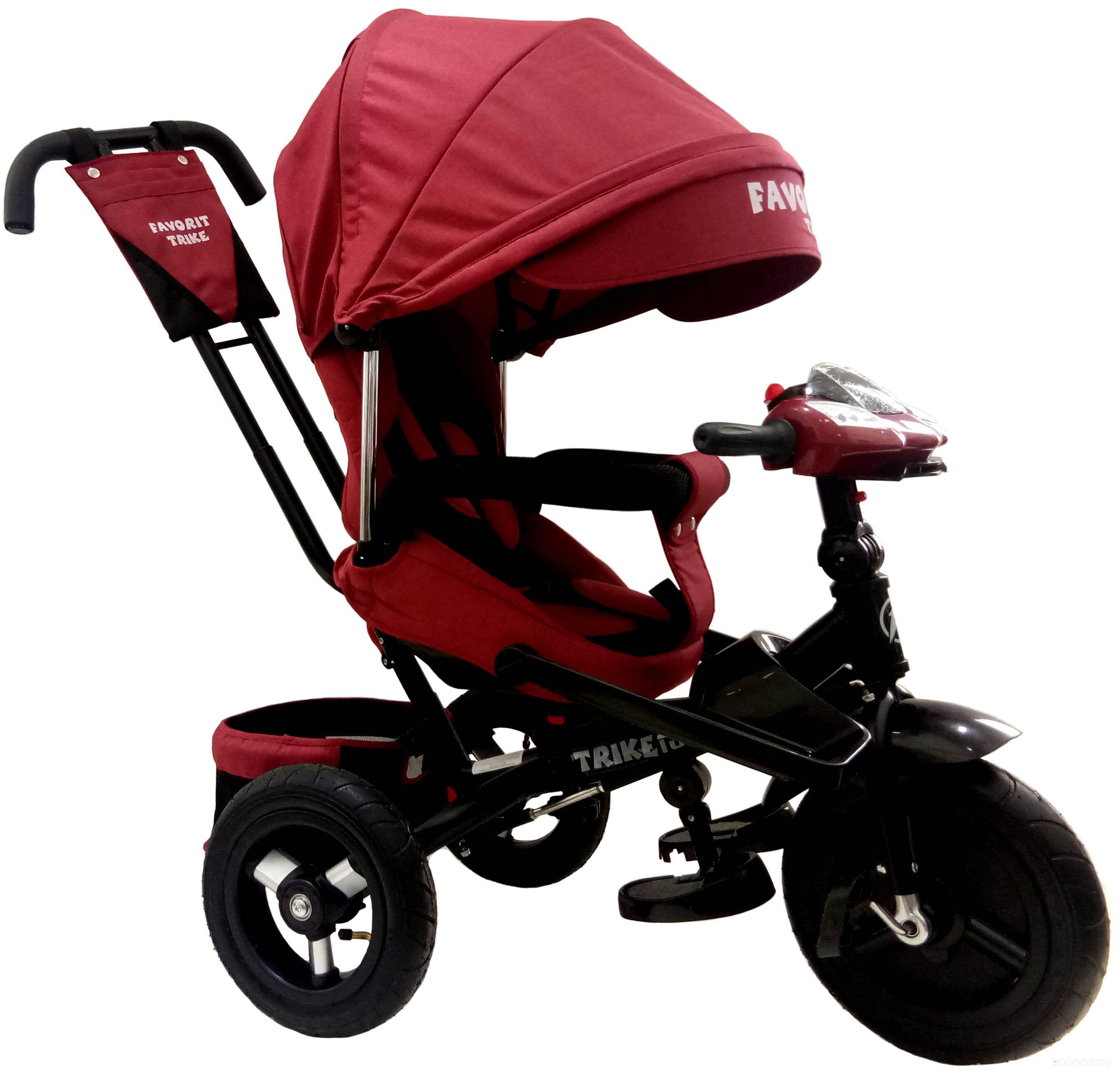 Детский велосипед Favorit Trike Lux FTL-1210-1 (красный)