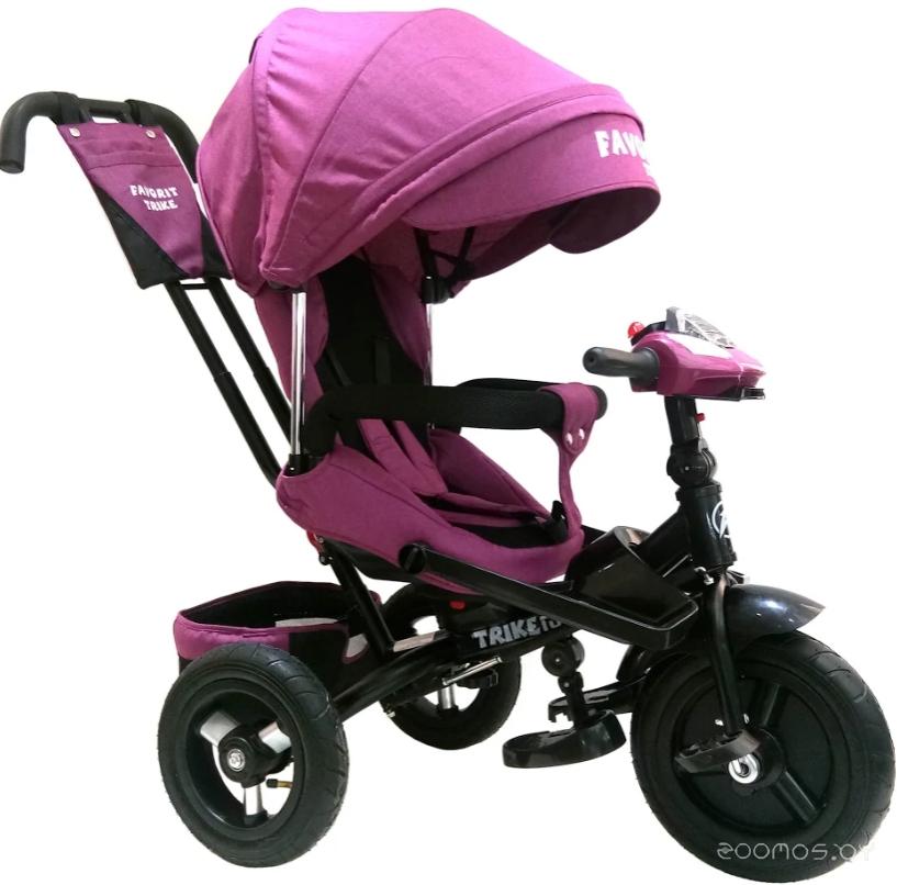 Детский велосипед Favorit Trike Lux FTL-1210-1 (фиолетовый)