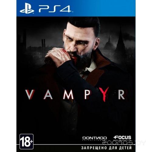 Игра для игровой консоли Dontnod Entertainment Vampyr для PS4 русские субтитры