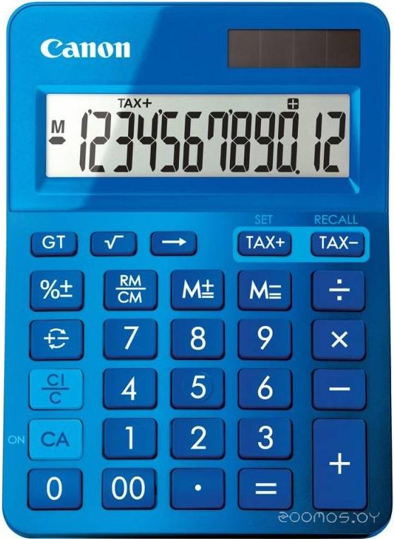 Калькулятор Canon LS-123K (Blue)
