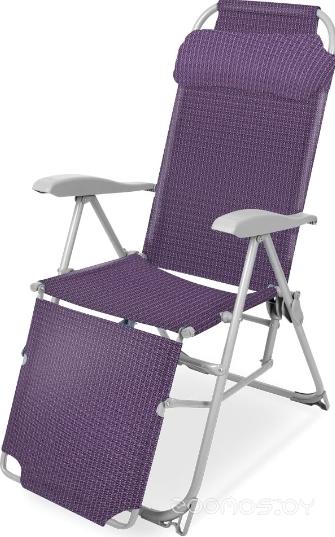 Кресло Nika складное КШ3 (баклажановый)