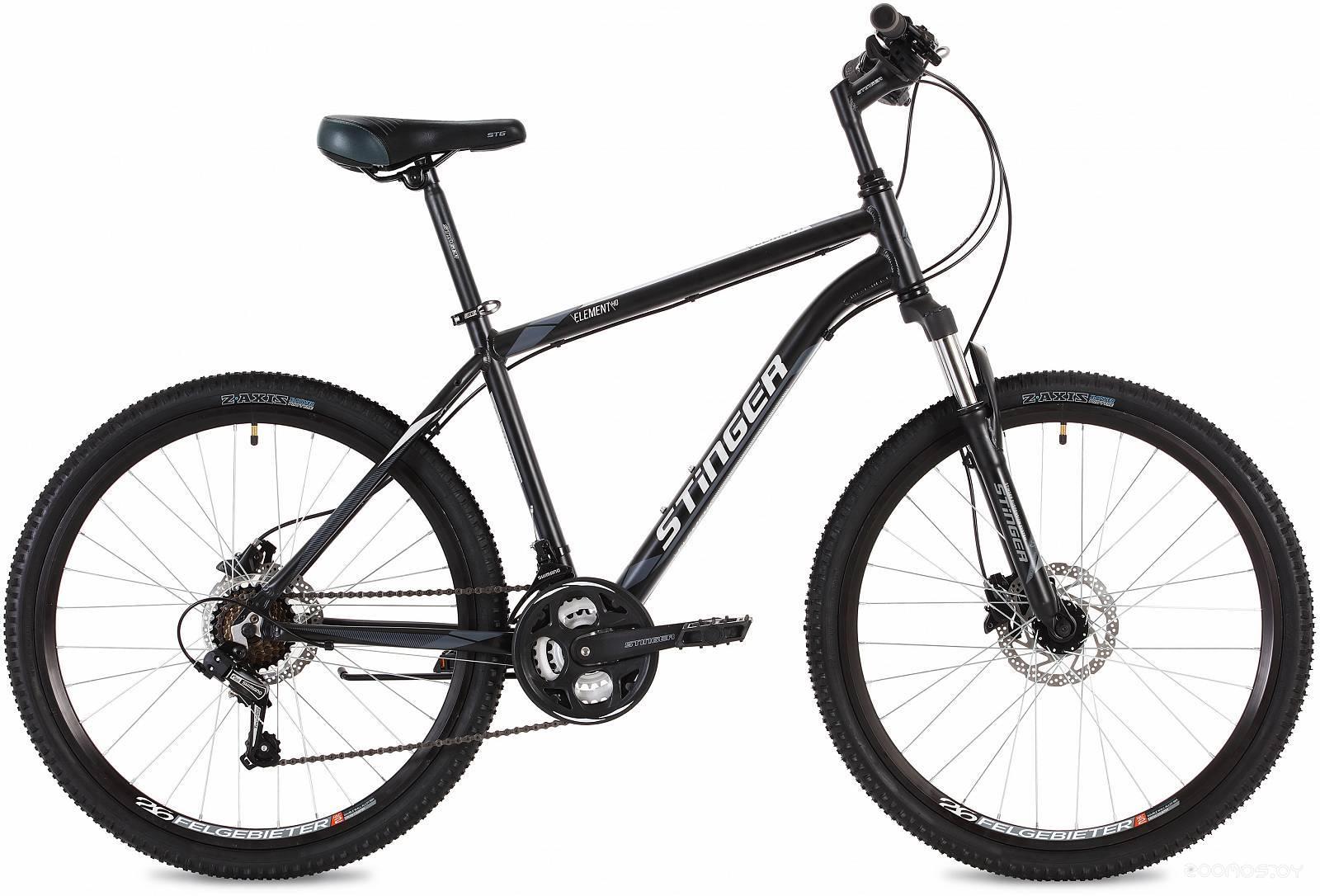Велосипед Stinger Element HD 26 (черный, 2019)