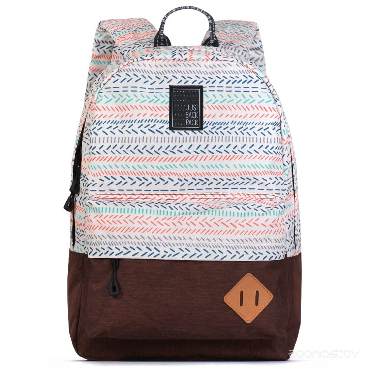 Рюкзак Just Backpack Vega (stripes-brown)