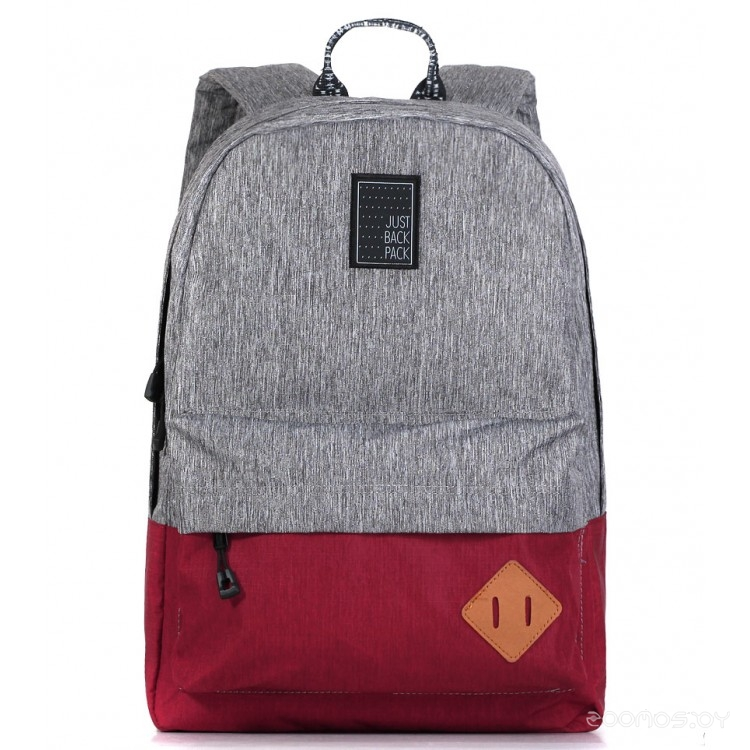 Рюкзак Just Backpack Vega (grey-noise-wine)