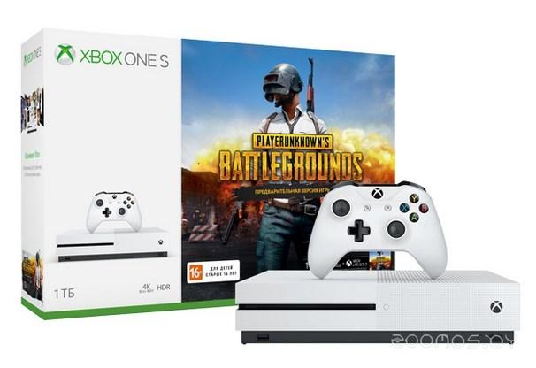 Игровая приставка Microsoft Xbox One S 1Tb + PUBG код + Game Pass на 1 месяц