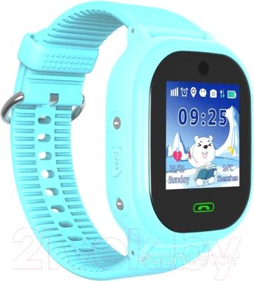 Умные часы Smart Baby Watch Q06 Waterproof Swimming (Light Blue)