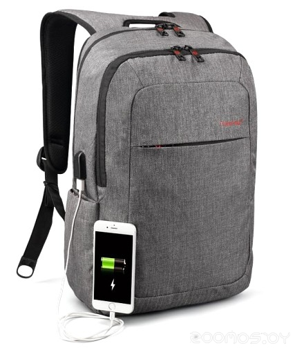 Рюкзак для ноутбука Tigernu T-B3090U (Light Grey)