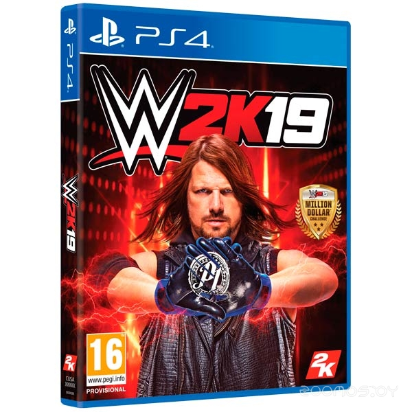 Visual Concepts WWE 2K19 для PlayStation 4