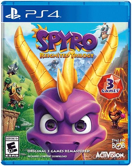 Toys for Bob Spyro Reignited Trilogy для Xbox One