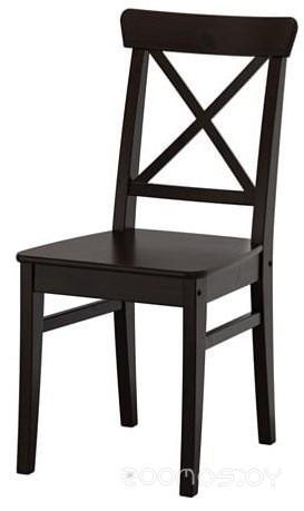 Стул Ikea Ингольф (коричнево-черный) [703.608.95]