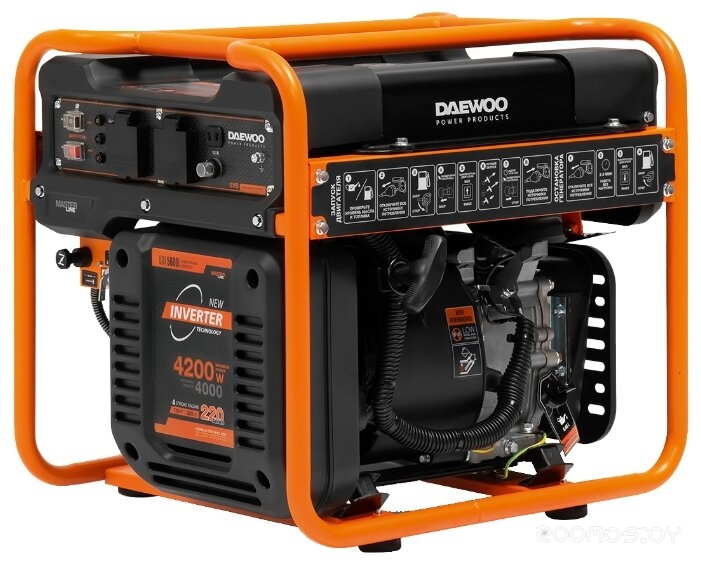 Электростанция Daewoo Power Products GDA 5600i