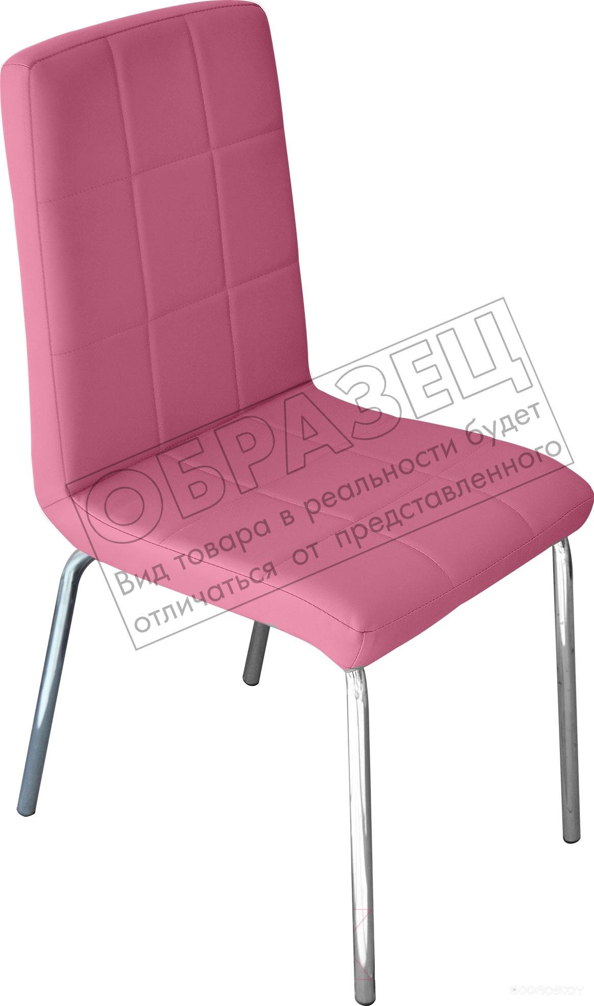 Стул Mio Tesoro Дона DC-054 (Розовый/хром)