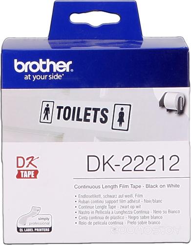 Термобумага Brother DK-22212 (62 мм, 15.24 м)