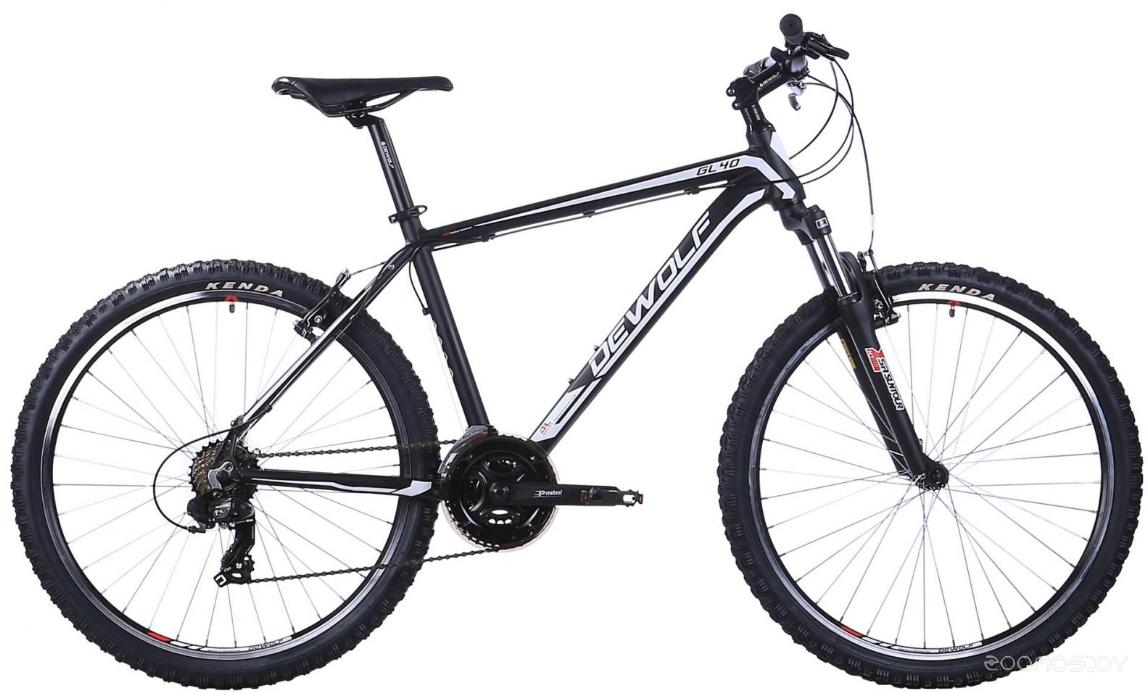 Велосипед Dewolf GL 40 (черный)
