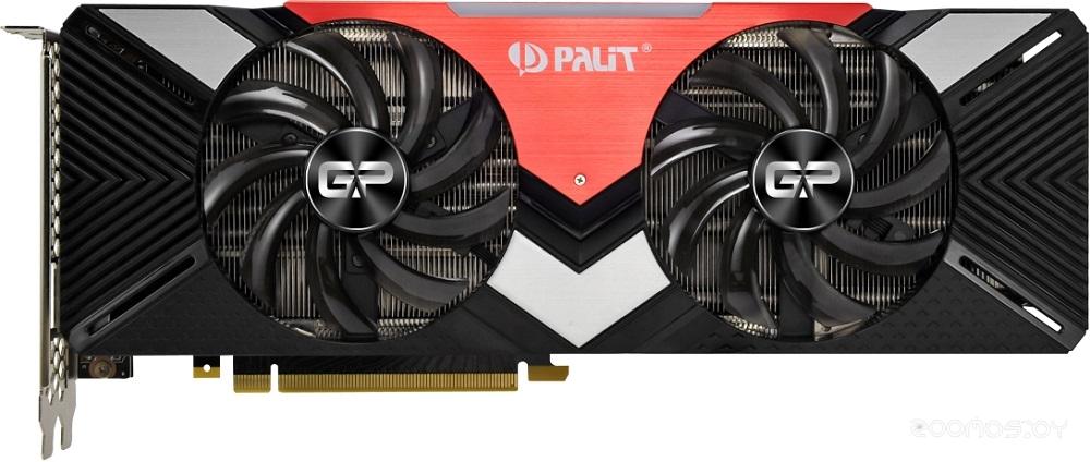 Видеокарта PALIT GeForce RTX 2080 Dual 8GB GDDR6 NE62080020P2-180A