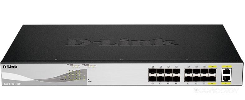 Коммутатор D-LINK DXS-1100-16SC/A1A