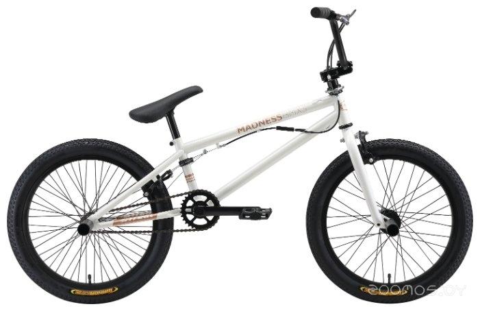 Велосипед BMX Stark Madness BMX 3 (2019) (White-Gold)