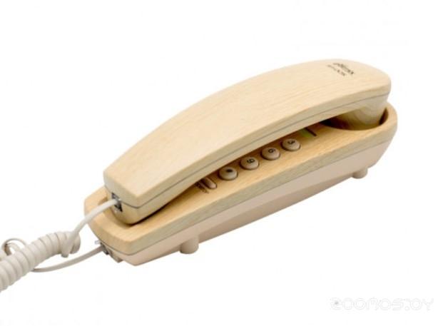 Проводной телефон Ritmix RT-005 (Light Wood)