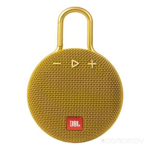 Портативная акустика JBL Clip 3 (Yellow)