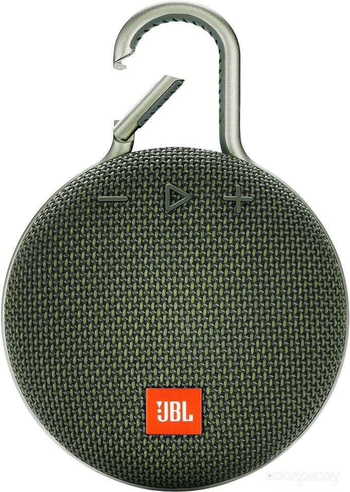 Портативная акустика JBL Clip 3 (Green)