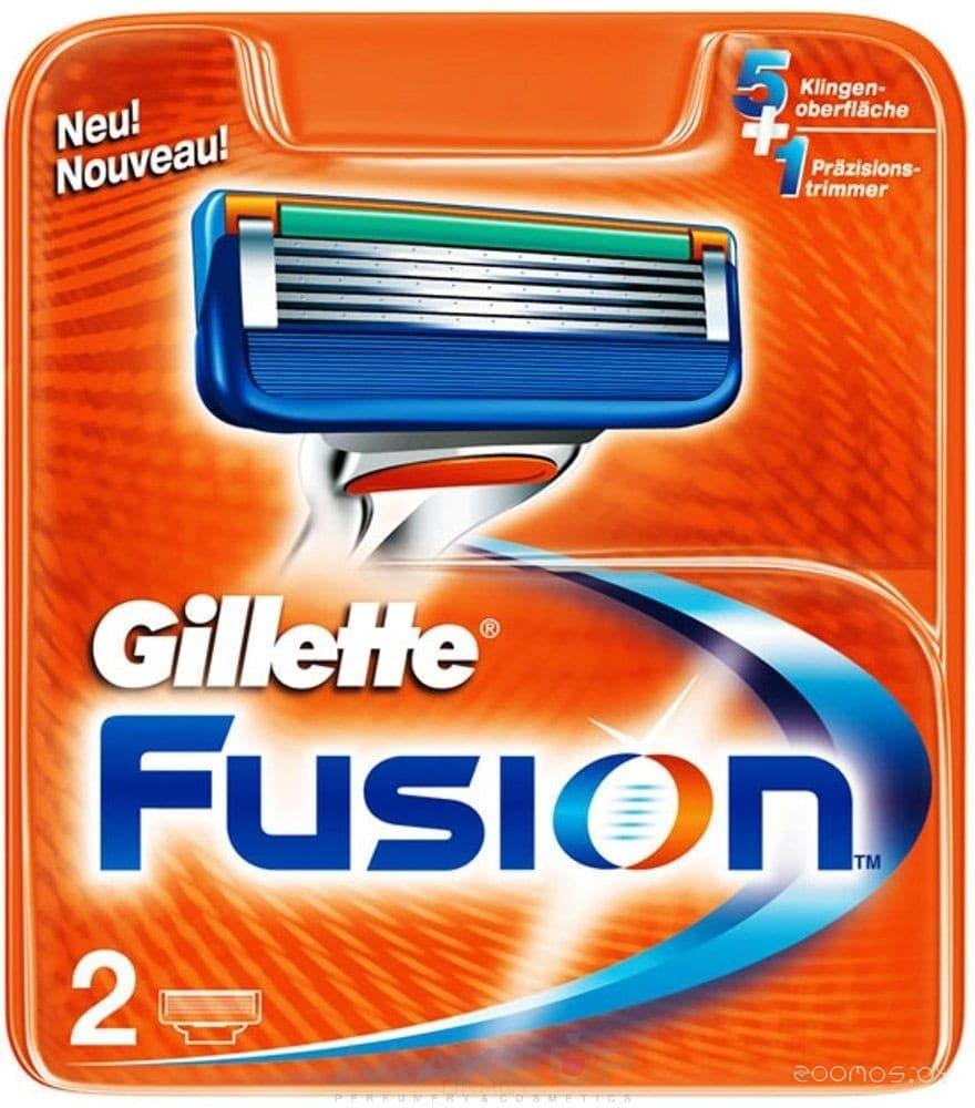Сменные кассеты Gillette Fusion 2 шт
