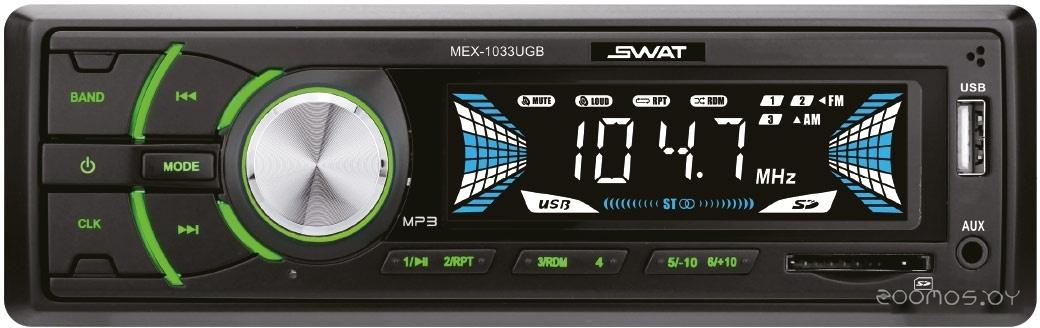 USB-магнитола SWAT MEX-1033UBG