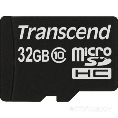 Карта памяти Transcend microSDHC Class 10 32GB
