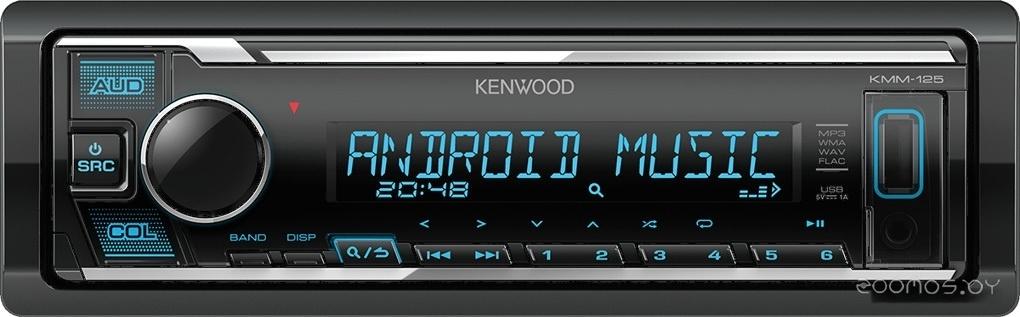 USB-магнитола Kenwood KMM-125