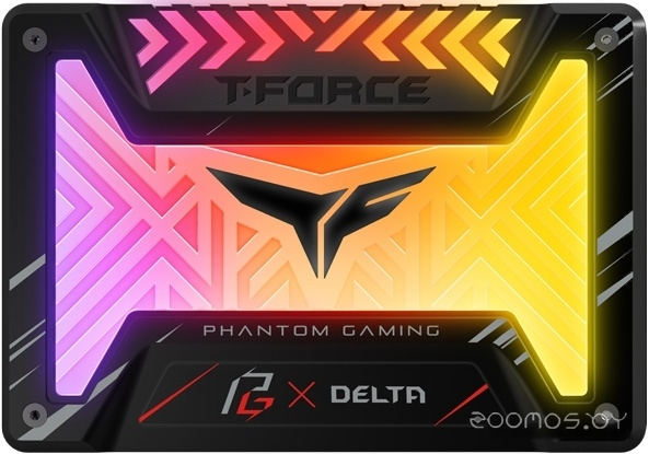 SSD ASROCK Delta Phantom Gaming RGB 500GB T253PG500G3C313