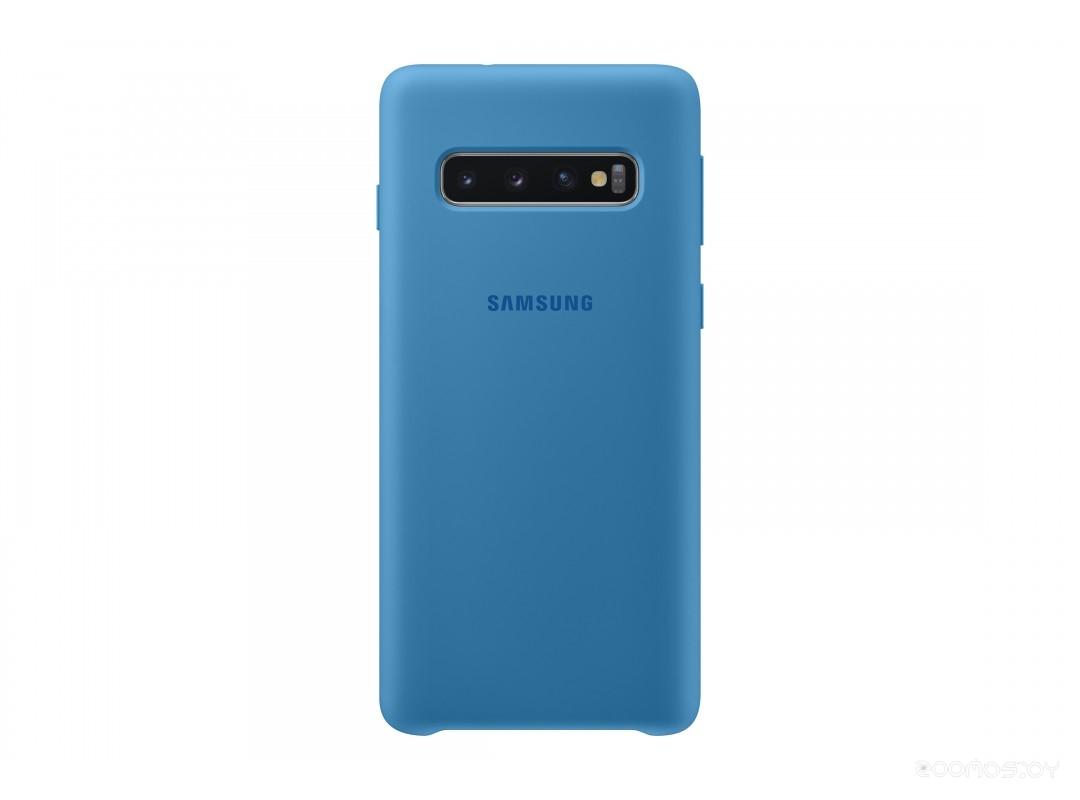 Чехол Samsung SCover для Galaxy S10 (Light Blue)