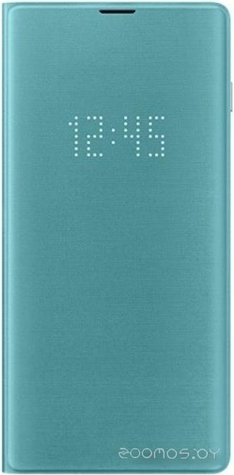 Чехол Samsung LED View Cover для Samsung Galaxy S10 Plus (зеленый)