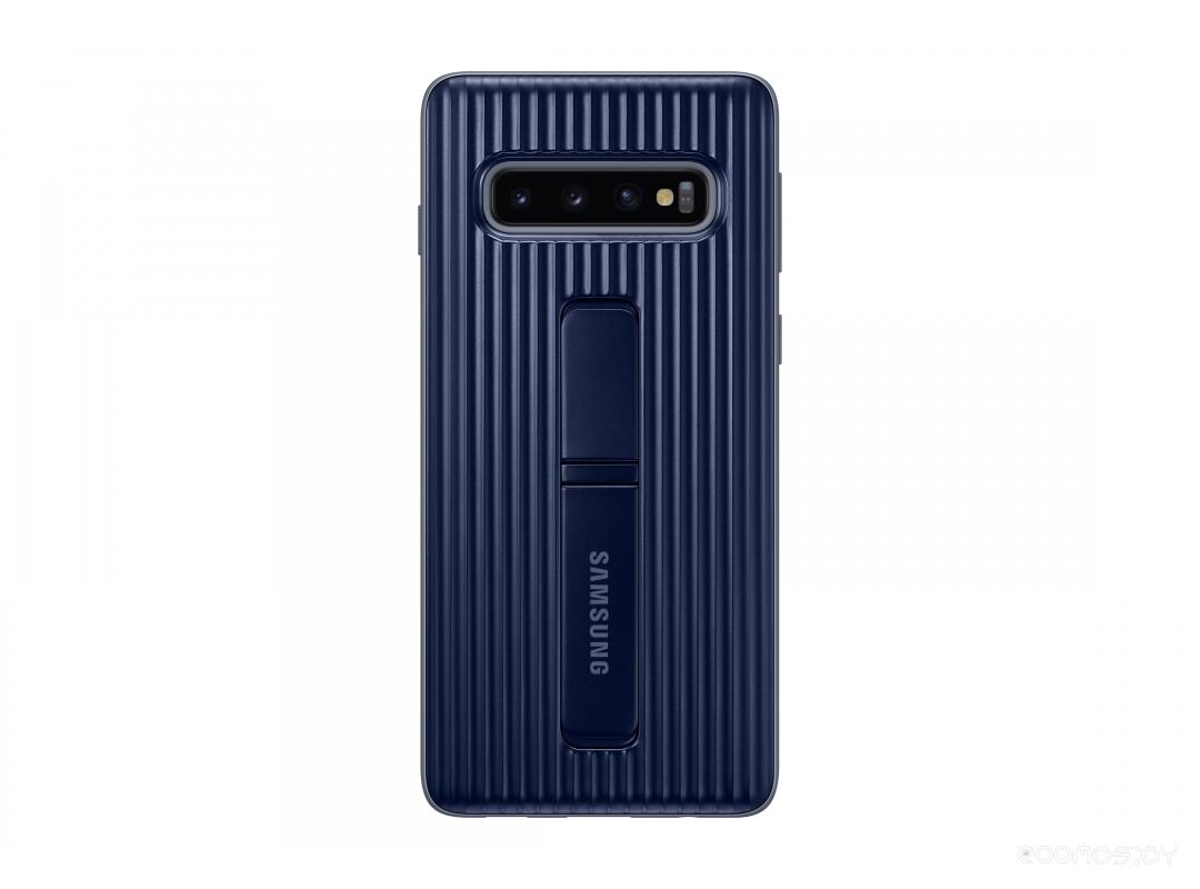 Чехол Samsung Protective Standing Cover для Samsung Galaxy S10 (черный)