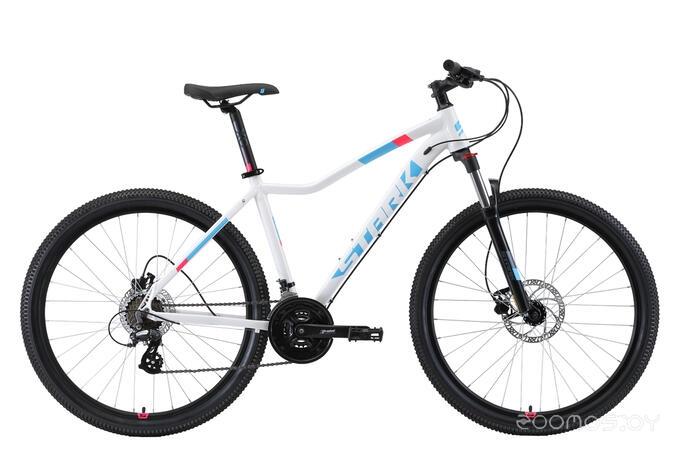 Велосипед Stark Viva 27.3 HD (2019) 18 (белый/голубой/розовый)