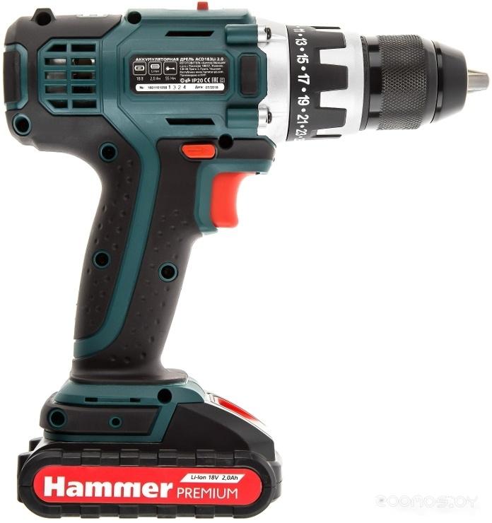 Дрель-шуруповерт Hammer ACD183Li 2.0 Premium