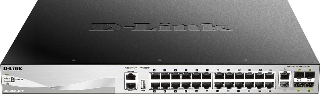 Коммутатор D-LINK DGS-3130-30PS/A1A