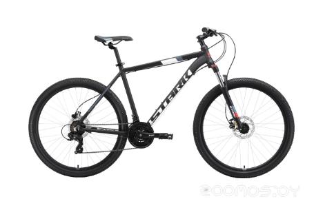 Велосипед Stark Hunter 27.2 HD (2019) 18 (чёрный/белый/серый/красный)
