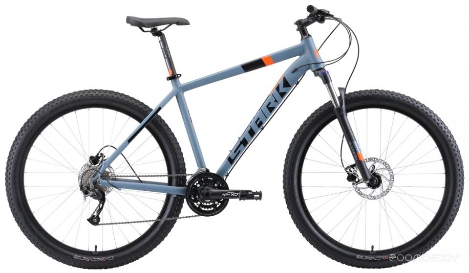 Горный (MTB) велосипед Stark Funriser 29.4+ HD (2019) 18 (Grey/Orange)