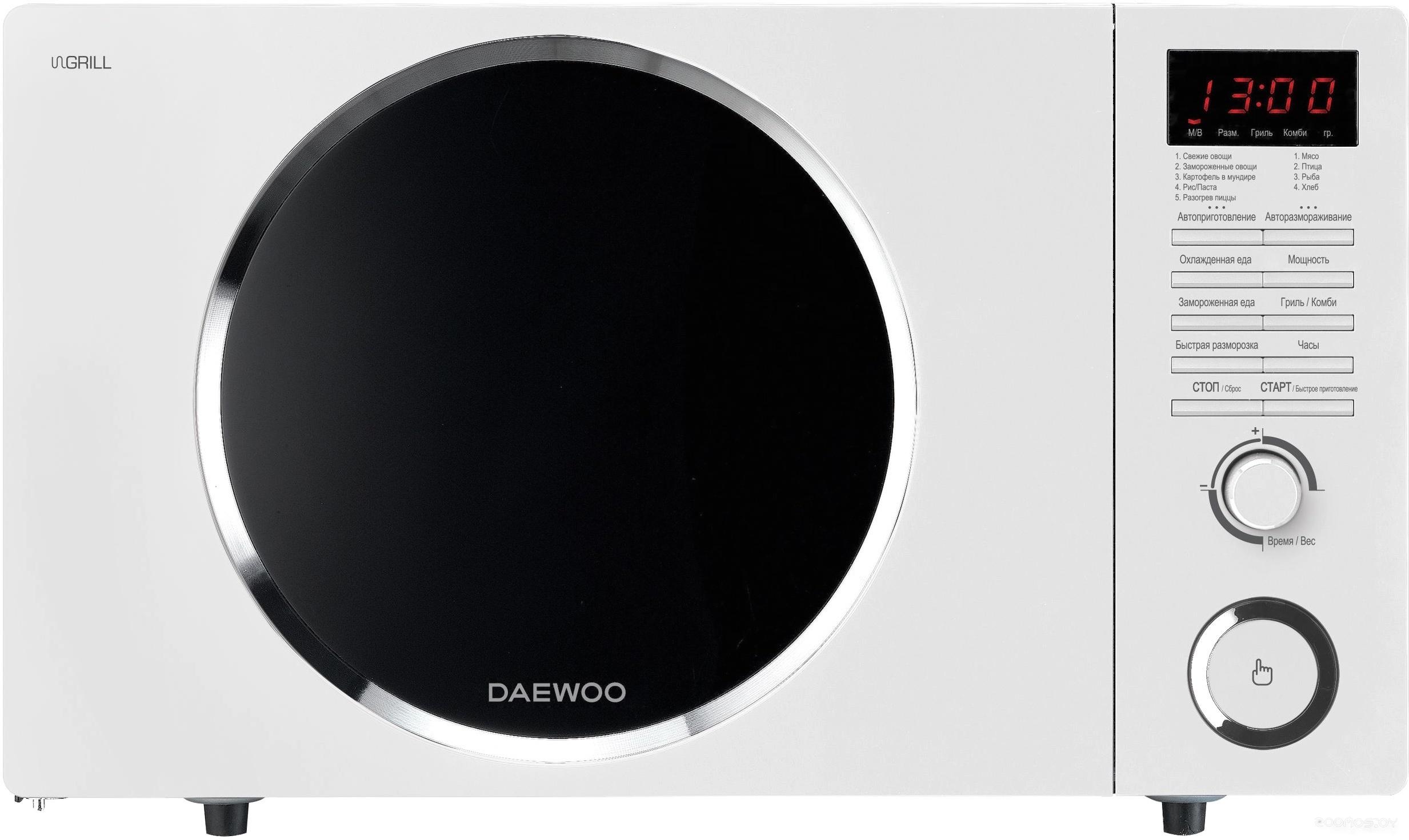 Микроволновая печь Daewoo KQG-81HRW