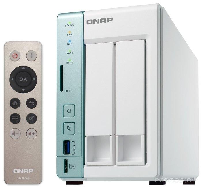 Сетевой накопитель (NAS) QNAP D2 Pro