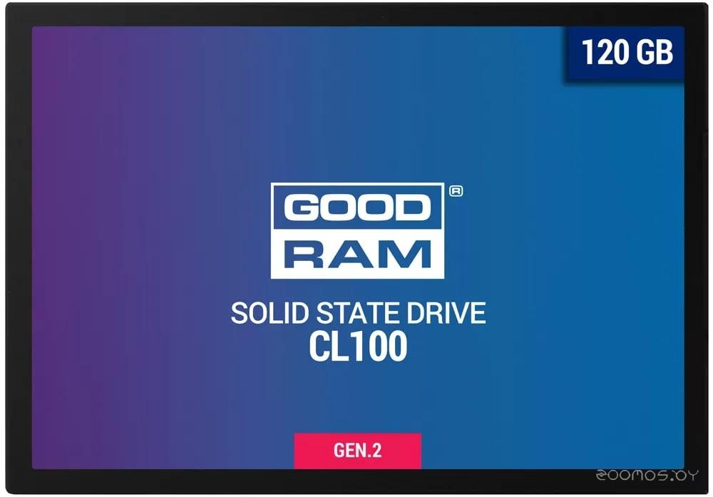 SSD GoodRAM CL100 Gen. 2 120GB SSDPR-CL100-120-G2