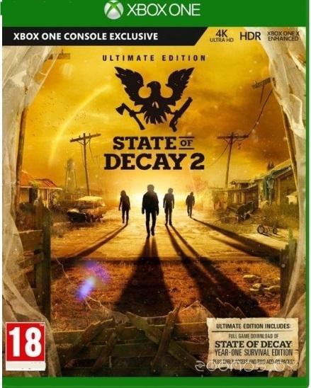 Игра для игровой консоли Undead Labs State of Decay 2 Ultimate для Xbox One