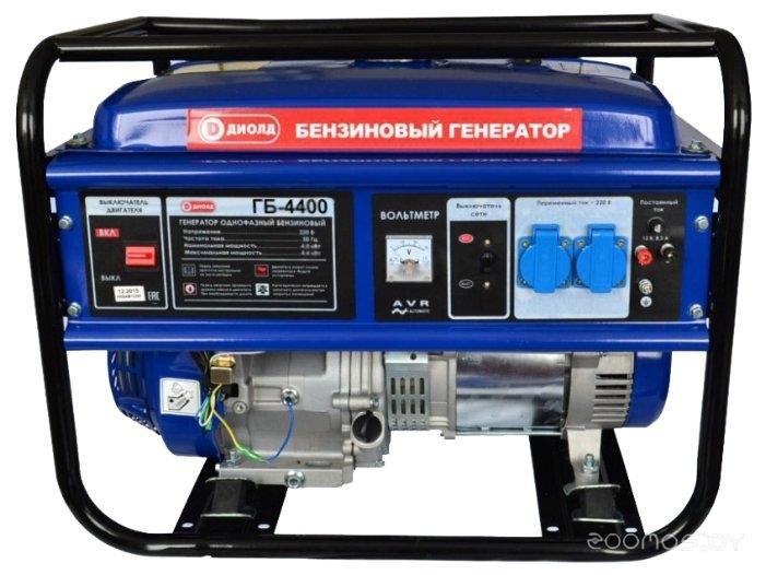 Бензиновая электростанция ДИОЛД ГБ-4400